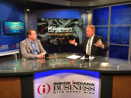 Inside Indiana Business Koorsen