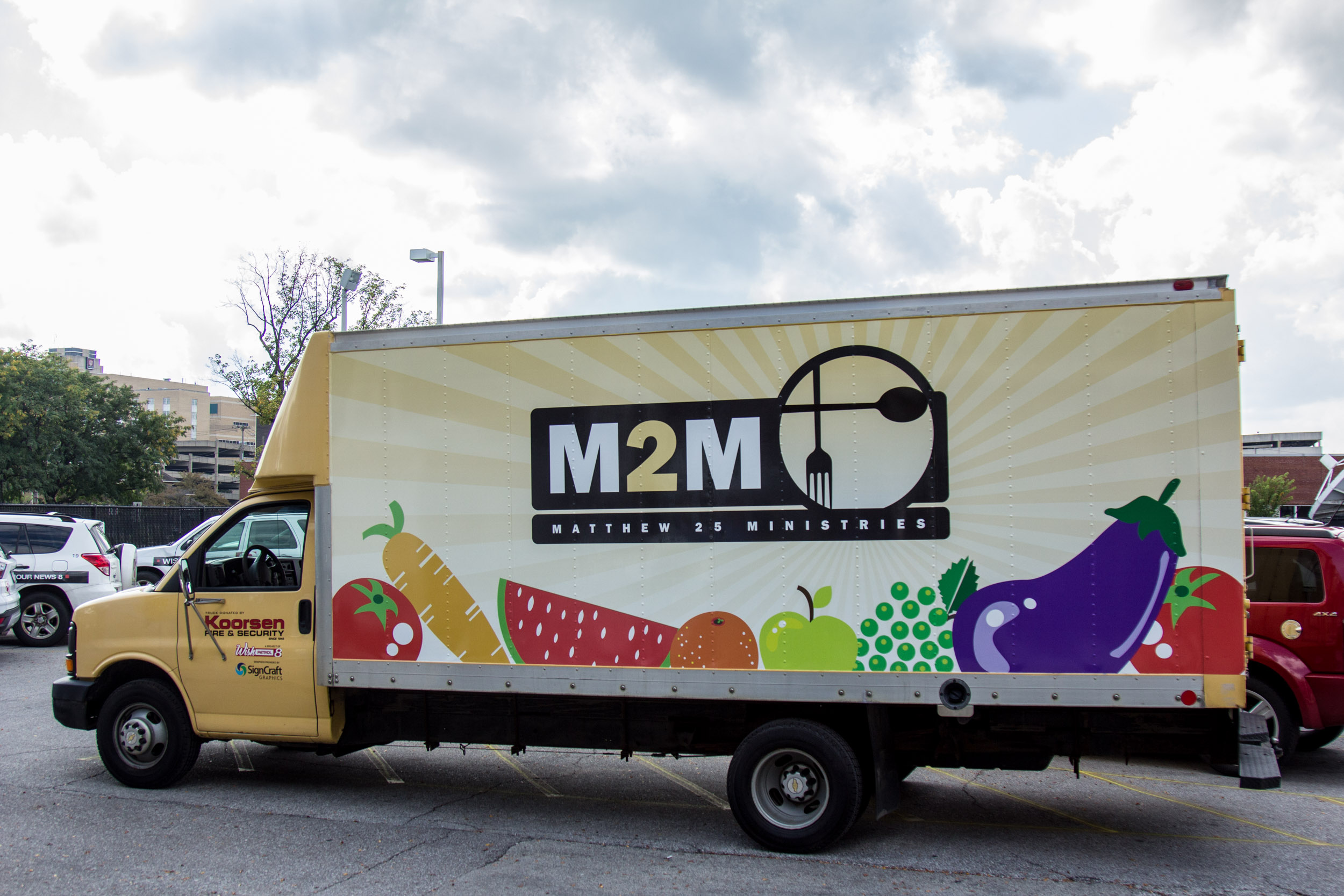 Koorsen Family Foundation Joins WISH Patrol in Supporting M2M Ministry - Koorsen Box Truck Donated