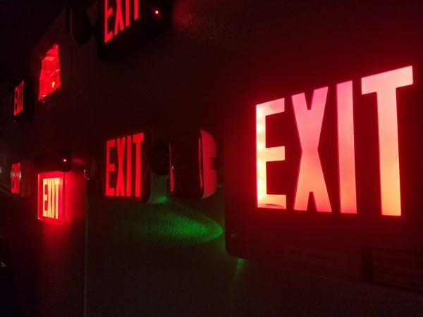 How Many Exit Lights Do I Need?