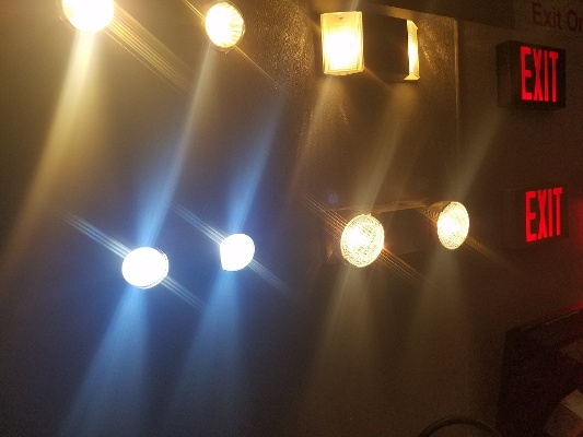 Emergency Lights On Wall OLD-1