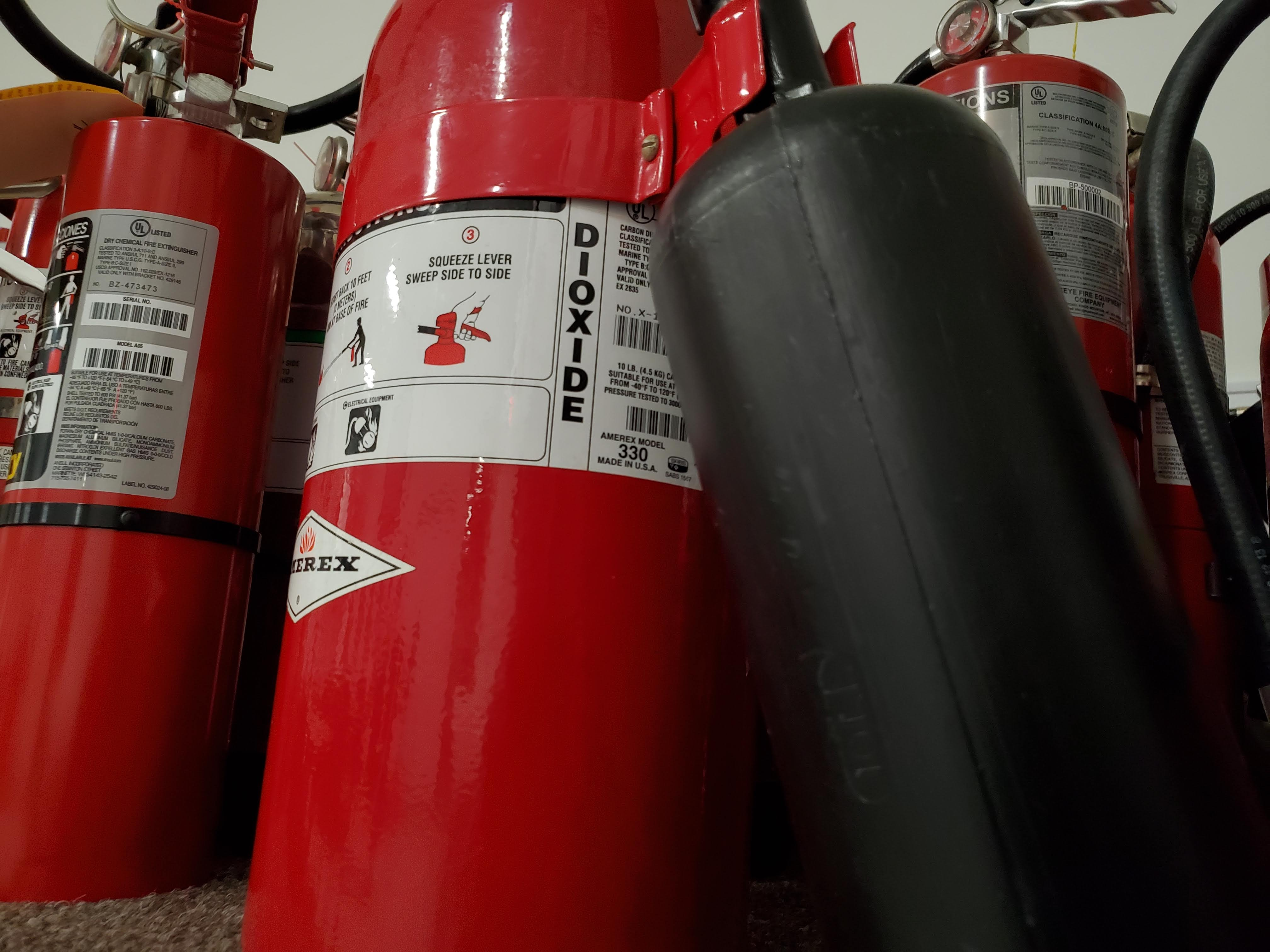 Top 5 Things to Know about Carbon Dioxide Extinguishers