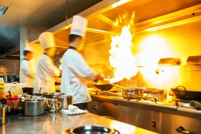 Commercial Kitchen Fire Suppression Hood