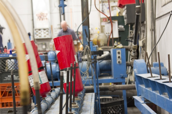 Fire Extinguisher Cylinder Drying Rack