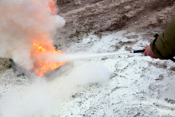 Fire Extinguisher Training Residue-1