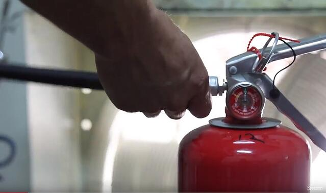 Take the Hose Off the Fire Extinguisher