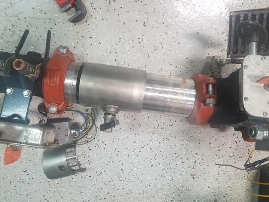 Disassembled Backflow Device