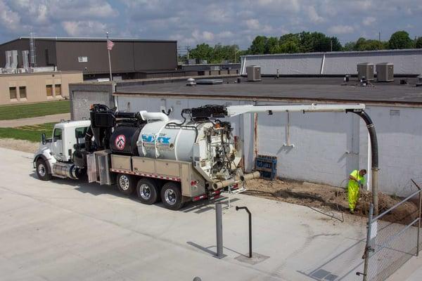 Koorsen's Hydro Excavation Process Makes Underground Pipe Repairs, Installation and Maintenance Safer