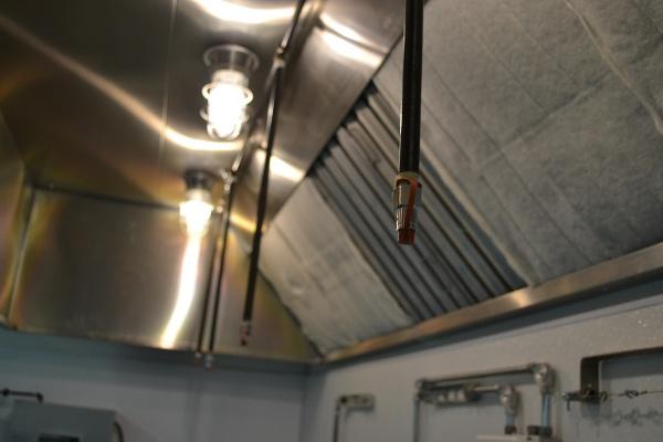 Kitchen Hood Fire Suppression Nozzles