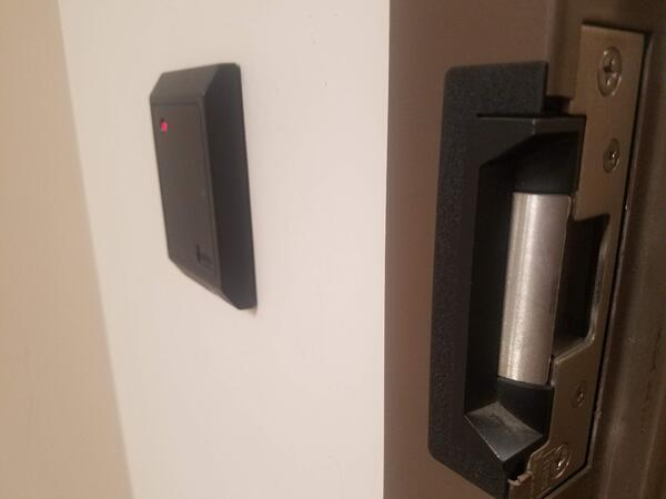 Electric Strike Lock and Access Control System Reader