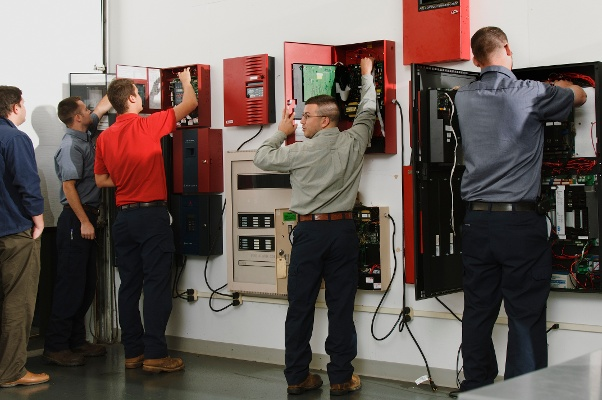 Fire Alarm Panel Room Training Center