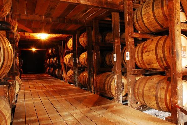 Bourbon Barrels Warehouse