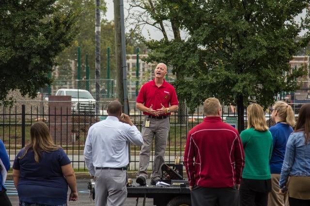 Fire Extinguisher Trainer Bob Havelin