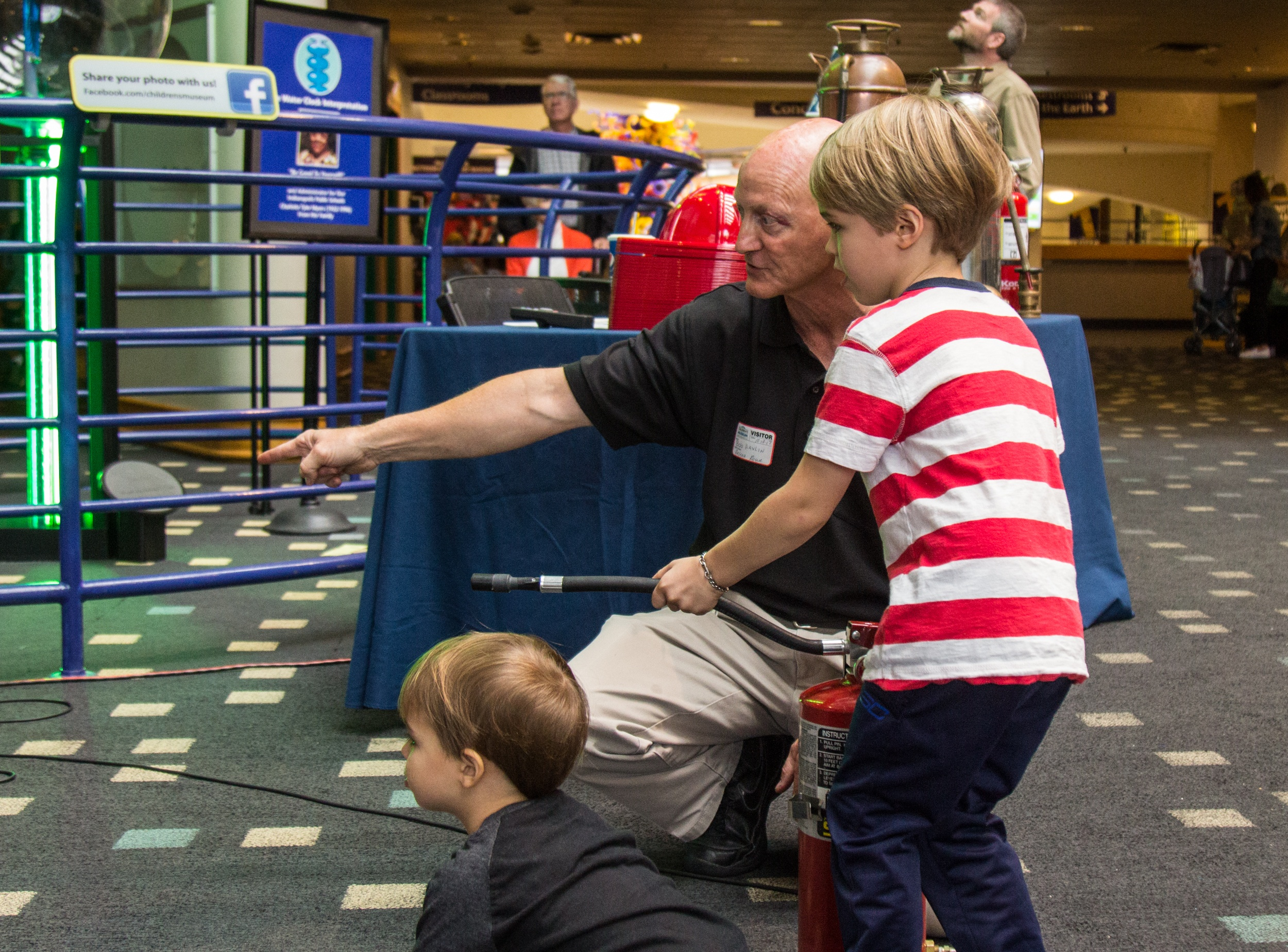 Teaching Fire Safety at the Indianapolis Children's Museum