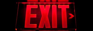 Exit Lights vs. Emergency Lighting