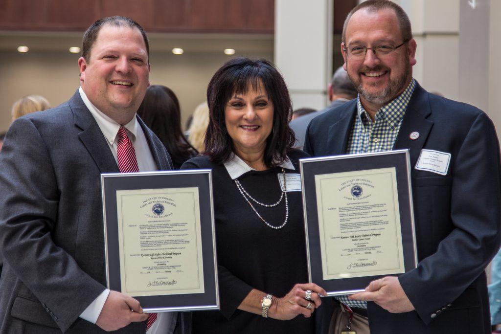 koorsen receiving excellence award