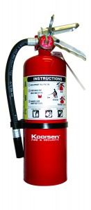 Stay Safe by Following Fire Extinguisher Basics