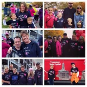 Koorsen associates at the Nashville Making Strides Against Breast Cancer 5K.