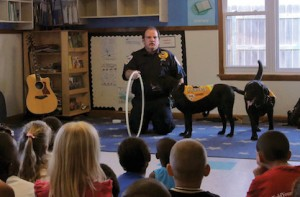 The Kasey Program: Using Dogs to Teach Life Safety Lessons