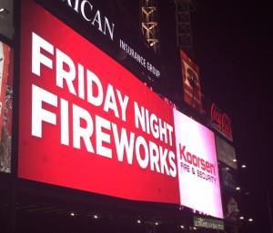 Koorsen Fireworks Night Sign