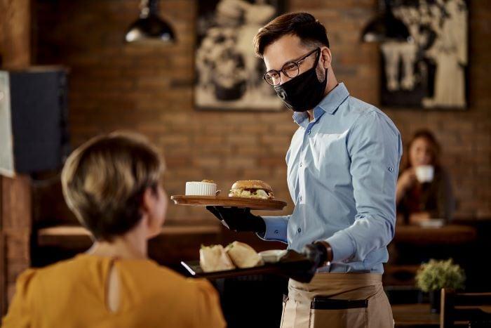Restaurant Covid Masks