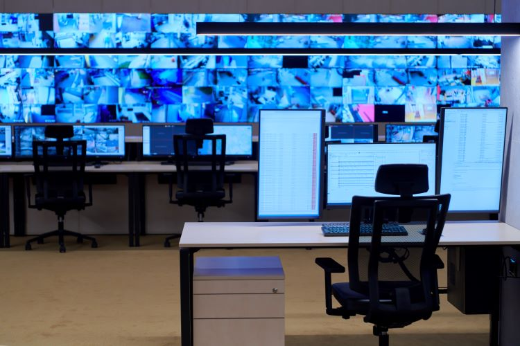 Security System Control Room
