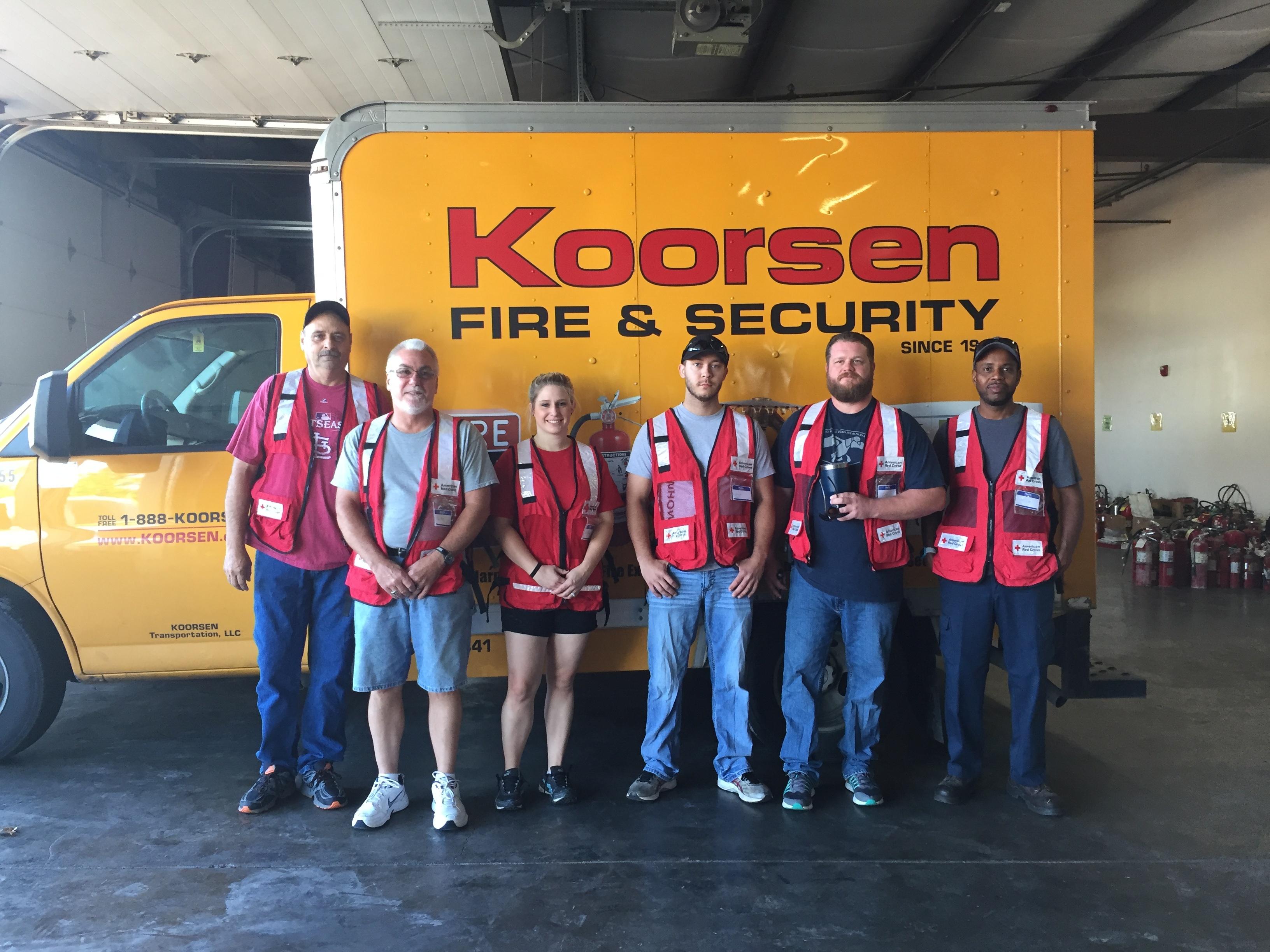 Koorsen Evansville Red Cross 2017