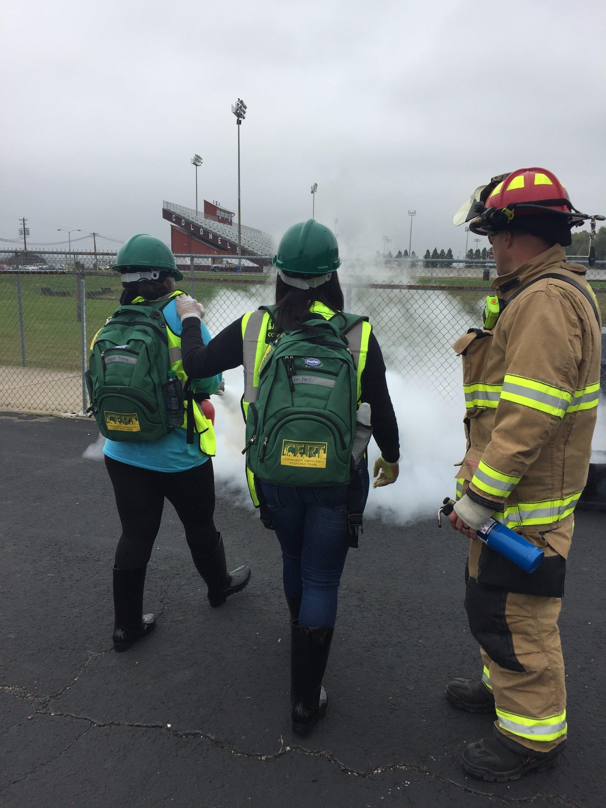 Koorsen Evansville Branch - Henderson County High School 2017 Fire Extinguisher Donation