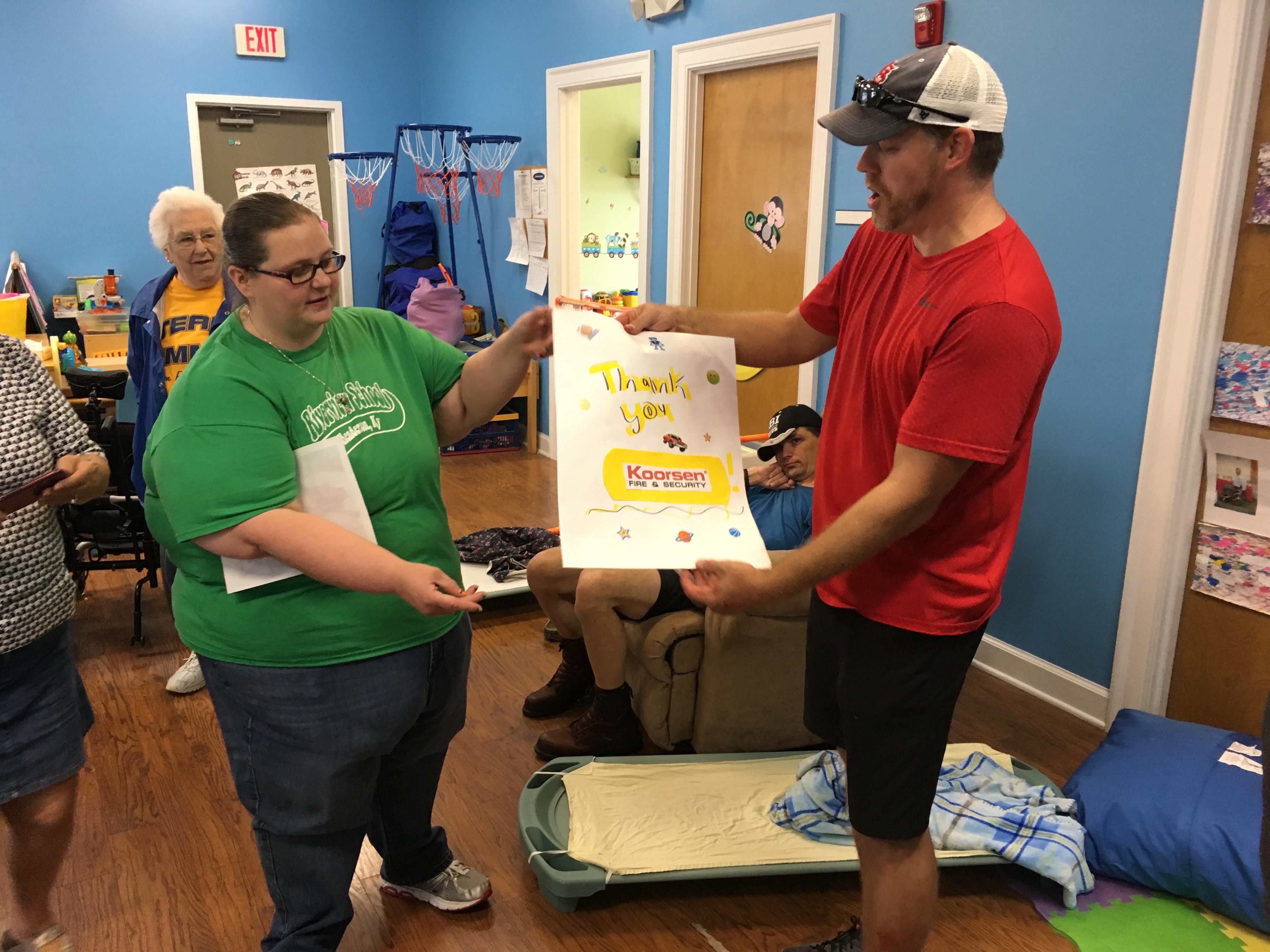 Koorsen Evansville Branch - Riverview School  Community Outreach 2017