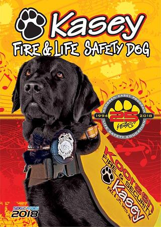 Kasey Program - Celebrating 25 years of teaching kids about fire safety