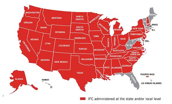 States who adopted IFC