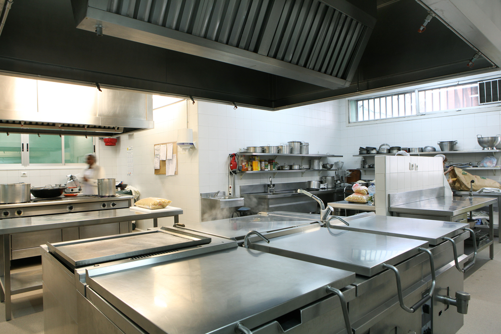 Can I Move Cooking Equipment Under the Kitchen Hood Fire Suppression System?