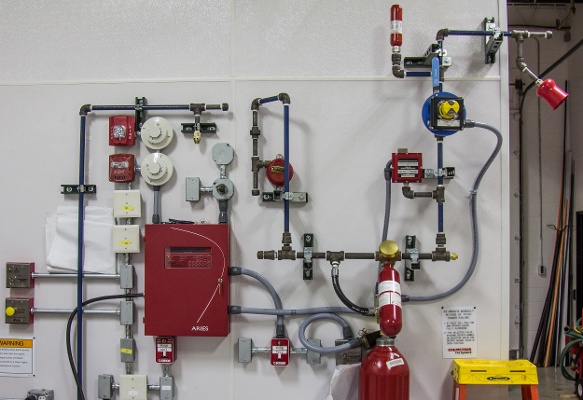 What Is A Co2 Fire Suppression System And How Does It Work